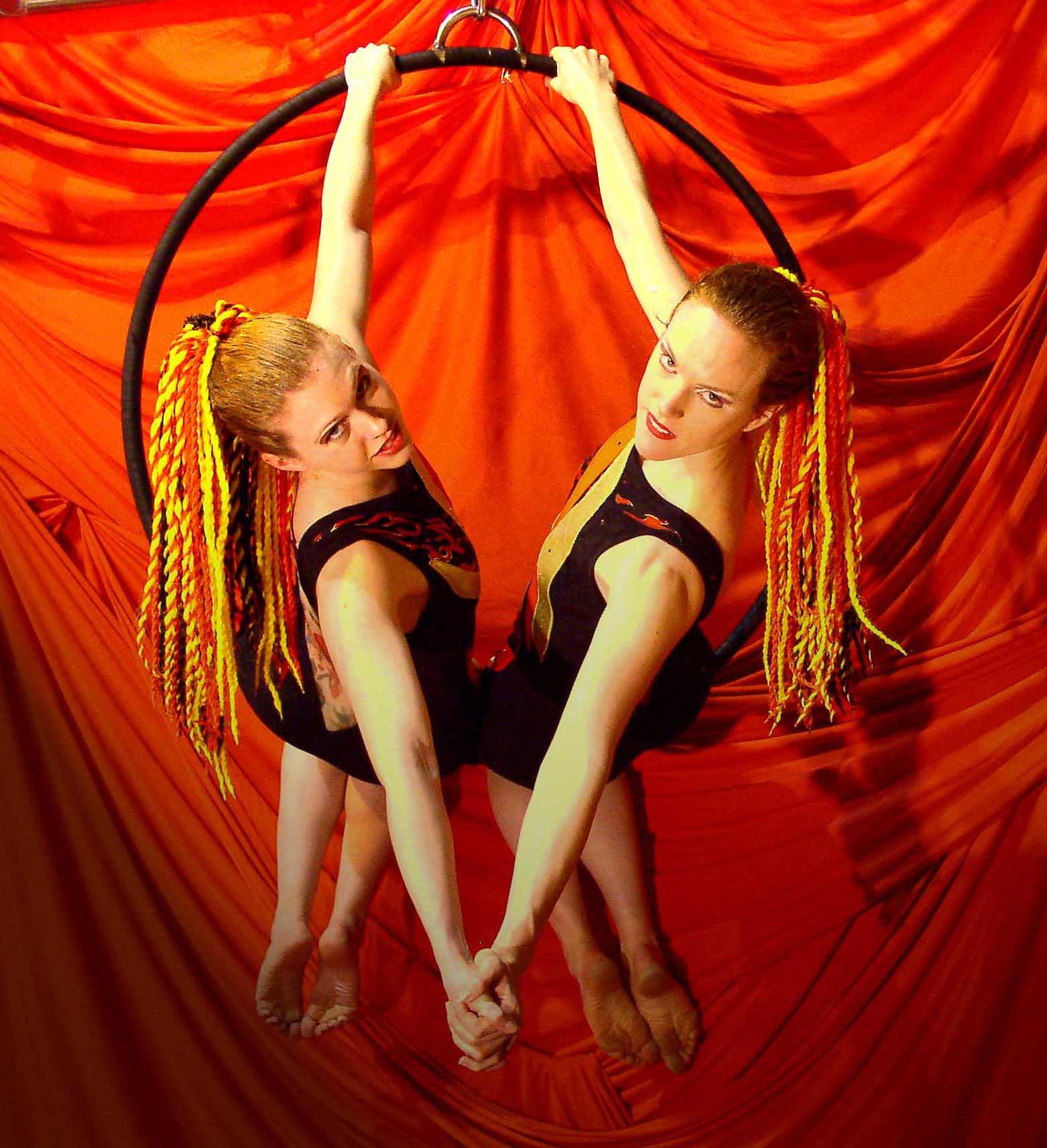 circus trapeze silhouette